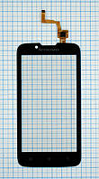 Тачскрин сенсорное стекло для Lenovo A328T black