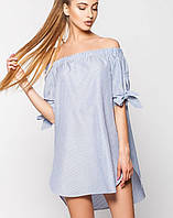 Платье с открытыми плечами | Инга leo