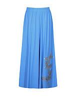 новинка! Летняя юбка - солнце-клеш - пояс на резинке
