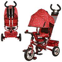 Велосипед детский трёхколёсный М 5361-5 красный