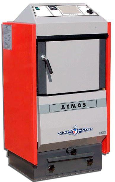 Котел отопления на твердом топливе Atmos (Атмос) D20