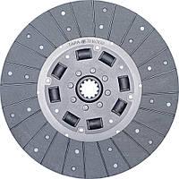 Диск сцепления МТЗ-80 (резиновый демпфер) 70-1601130     , фото 1
