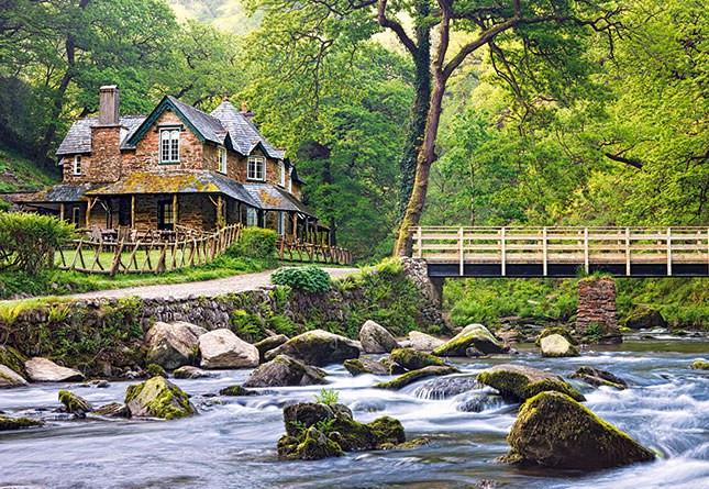 Пазлы Castorland Эксмурский национальный парк, Англия 2389, 1000 элементов