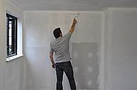 Грунтовка стен, потолка, пола. грунтовать стены , потолок, пол.