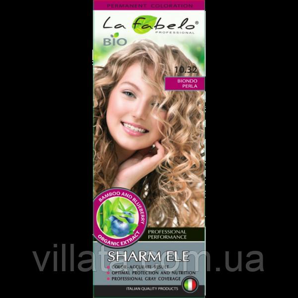"""Крем-краска для волос БИО La Fabelo №10.32 """"Перламутровый Блонд. Платиновый Блонд"""""""