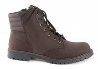 Мужские ботинки  Palet темно-коричневые