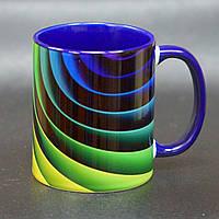 """Чашка """"Радуга 3D"""", фото 1"""