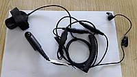 Гарнитура с вибромикрофоном MM-741 M4 на руль (мото - вело) для радиостанций Motorola GP, фото 1