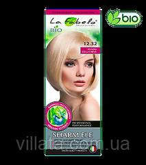 """Крем-краска для волос La Fabelo №12.32  БИО """"Снежная Королева. Платиновый пепельный блонд"""""""