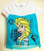 футболка с Эльзой Холодное Сердце