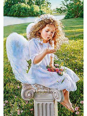 Пазлы Castorland Шепот ангела 2792, 1000 элементов
