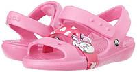 Оригинальные босоножки крокс Crocs Girls' Keeley Minnie Sandal