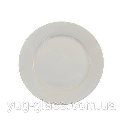 """Тарелка мелкая 270 мм круглая белая """"HR1164"""" 1шт."""