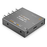 Конвертер Blackmagic Design Mini Quad SDI to HDMI 4K (CONVMBSQUH4K2)