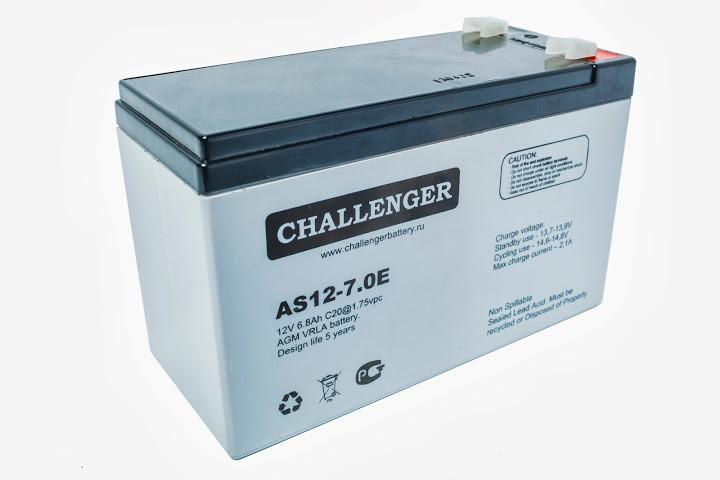 АКБ Challenger АS 6-1.3_12-28Ач