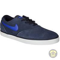 Кеды ( низкие ) Nike SB Eric Koston 2 LR Skate Shoe in Obsidian Gym Royal Light Ash Grey ( тёмно-синий )