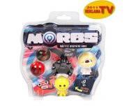 Игровой набор для детей 4 игрушки-трансформера и аксессуары MORBS
