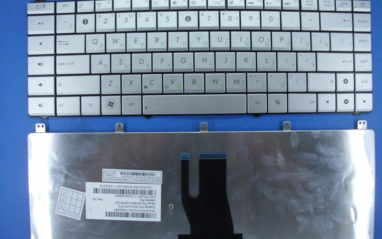 Клавиатура для ноутбука ASUS (N45S, N45V) rus,