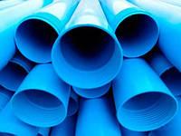 Пластиковая обсадная труба для скважин d.125*6,0мм