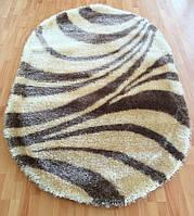 Турецкие ковры овальной формы 3D Shaggy