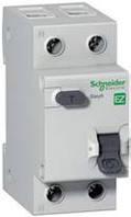 Дифференциальный автовыключатель SCHNEIDER EZ9 16A 30mA 1P+N AC, EZ9D34616