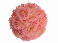 Розовый Шар из роз
