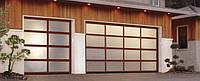 Панорамные гаражные ворота Ryterna