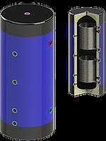 Теплоаккумулятор Werden I classik УНВ нст. 300 , с утеплителем и двумя темплообменниками (НЕРЖ. СТАЛЬ)