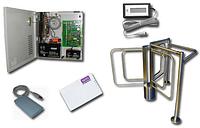Установка электронных проходных систем СКУД