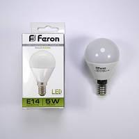 Лампа LED Feron 5 w LB-95 E-14 4000k
