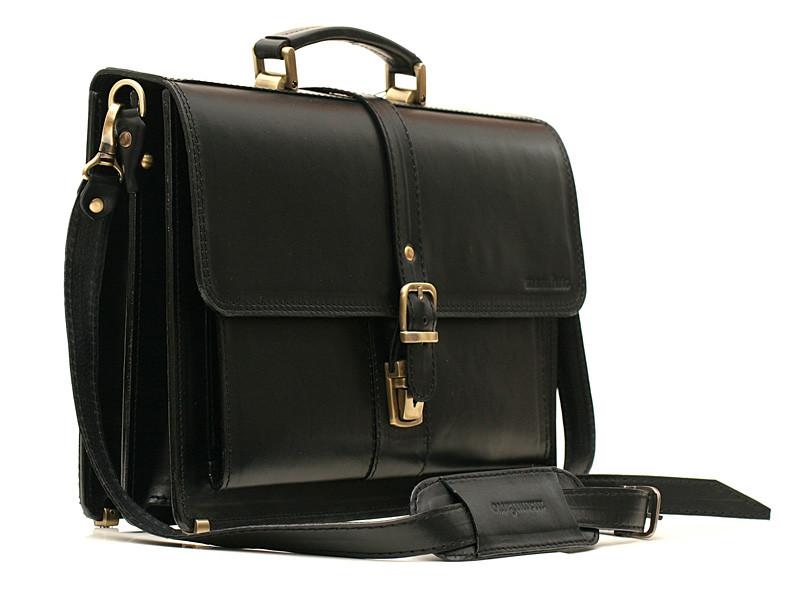 Кожаный мужской портфель РП-10