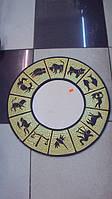 Декоративное зеркало настенное деревянное Знаки зодиака  размер 50*50
