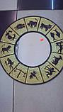 Декоративное зеркало настенное деревянное Знаки зодиака  размер 50*50, фото 2