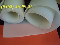 Резина силиконовая в рулонах