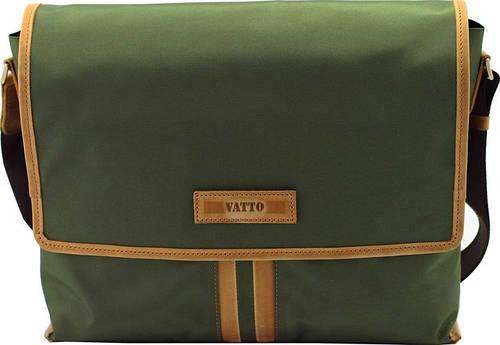 Оригинальная мужская текстильная сумка с отделением для планшета VATTO T34 N6 Kr190, хаки с рыжим