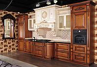 Деревянные фасады на кухню, кухни на заказ недорого(от фабрики производителя)
