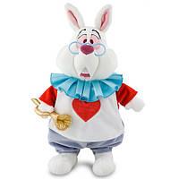Плюшевая игрушка Белый Кролик из мф Алиса в стране чудес 38 см Дисней / Plush Alice in Wonderland Disney