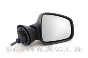 Зеркало наружное правое большое механическое с джойстиком Logan MCV, Logan,Sandero F 2 (Турция)