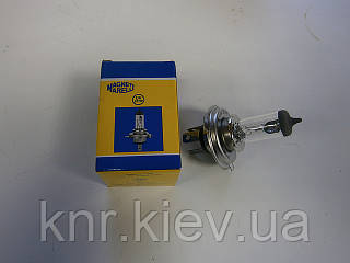 Лампа галогенная H4 24V 75/70W (дал. ближ.свет) Magneti Marelli