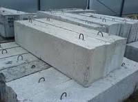 Блоки фундаментные, с доставкой и монтажом