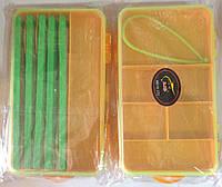 Коробка двухсторонняя с ремешком и поводочницами