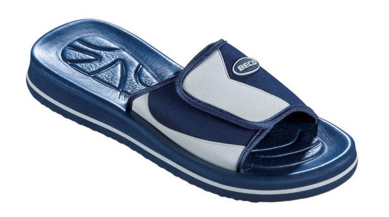 Тапочки чоловічі BECO синій 90618 711, фото 2