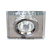 Точковий світильник Feron 8170-2 вбудовуваний срібло