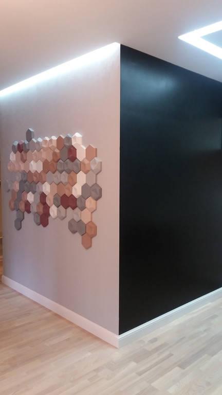 Наші роботи ( Гіпсові 3d панелі )