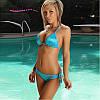 Стильный купальник. Голубой(Код 101)