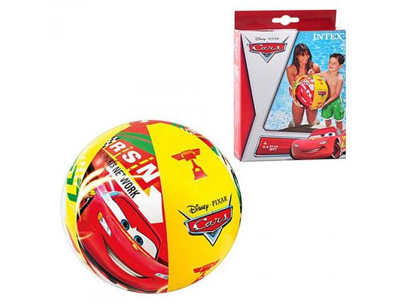 Надувной мяч Тачки 61 см, Intex, фото 2