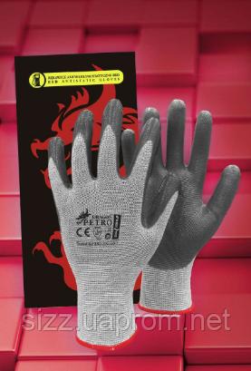 Перчатки из нейлона с нанесением нитрила PETRO, фото 1