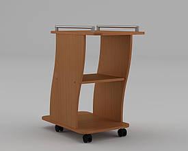 Журнальный столик Вена на колесиках