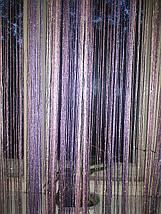 Шторы нити с люрексом радуга 09, фото 3
