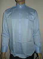 Хлопковая рубашка в полоску AYGEN, фото 1